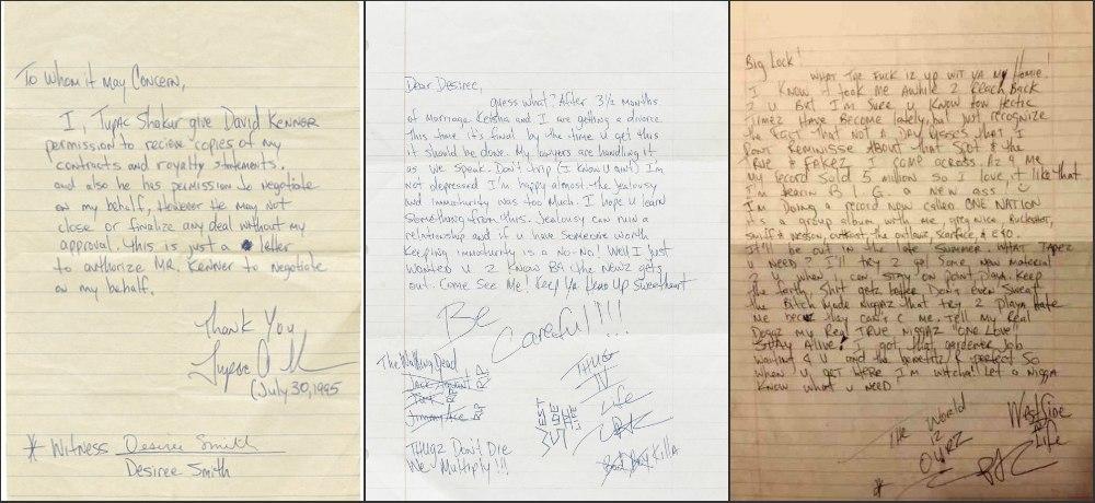 Найденные письма Тупака раскрывают его план объединить East Coast и West Coast